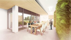 Yee Hong Hospice Dining Room illustration