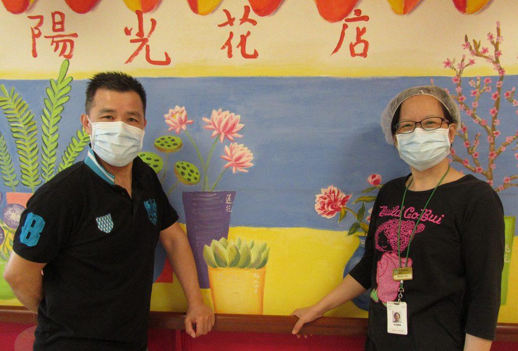 Addy Leung and Vera Ip