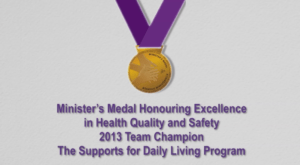 Health Quality and Safety Medal