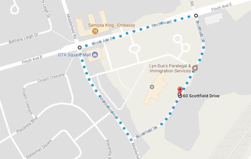 Earth Walk Route 2017 FCH